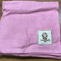 ルンギスカート ピンク  (リネン50コットン50)