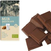 フェアトレードミルクチョコレート 100g 【オーガニック 有機栽培】【添加物不使用】【冬季限定】
