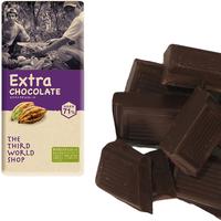 フェアトレードエクストラチョコレート 100g 【オーガニック 有機栽培】【添加物不使用】【冬季限定】