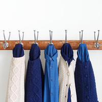 ichi 200469 Cable Knit Cardigan / 2 COLORS