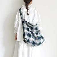 """""""LIMITED COLLECTION"""" ichi 210414 Tartan Check Bag / 2 COLORS"""