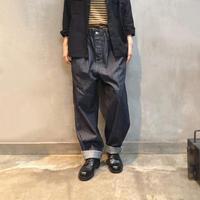 ichi 190935 Cotton Denim Pants / 2 size・2 COLOR
