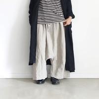 ichiAntiquités 600136 Linen KOTOHIRADAKI Pants / A : NATURAL