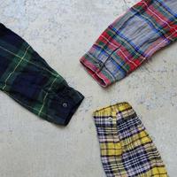 ichiAntiquités 500312 LinenTartan Shirt / GREEN