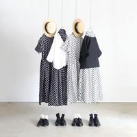 ichi 191222 Linen Dot Skirt / 2COLOR