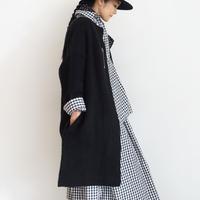 ichi 200478 Knit Long Cardigan / MOCHA・BLACK
