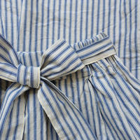 ichiAntiquités 500615 INDIGO Selvage Stripe Skirt / NAVY