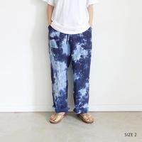 LANAI LA035 Linen Tie Dye Pants / 2 COLORS 《 SIZE 2 》