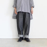 ichi 200438 Black Denim Pants / DARK 2 SIZE