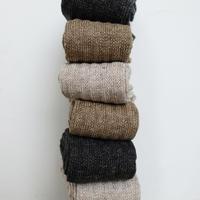 Loiter L012 Linen Pattern Socks / 3 COLORS