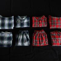 ichi 210409 Tartan Check Shirt / 2 COLORS
