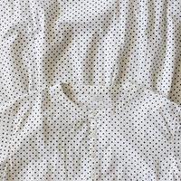 i c h i 181008 Dot Dress  / White