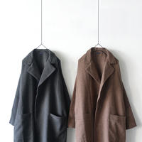 ichi 190530 Glen Check Coat / BROWN