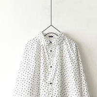 ichi 200401 Dot Print Shirt / 3 COLORS