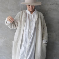 """""""LIMITED COLLECTION"""" ichi 210613 Stand Frill Shirt One Piece / 2 COLORS"""
