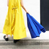 i c h i 181229 Cotton Typewriter Dress / Yellow