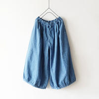ichi 190936 Denim Balloon Pants / 2 COLOR