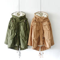 ichi 190431 Mods Coat / BEIGE