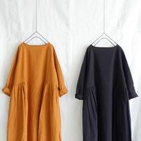 ichi 210406 Linen Cotton One Piece / 2 COLORS