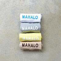 "LANAI LA045 ""MAHALO"" T-Shirt / 4 COLORS 《 SIZE 2 》"