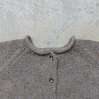ichi 190766 2Way Knit Pullover / MOCHA