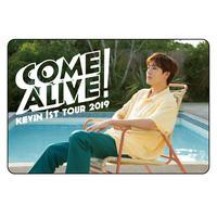 KEVIN 1st TOUR LIVE CARD