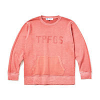 PIGMENT DYE CREW NECK SWEAT