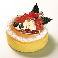 *店頭お渡しのみ* クリスマス スフレチーズケーキ(4号サイズ)