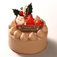 *店頭お渡しのみ* クリスマスチョコクリームデコレーションケーキ4号