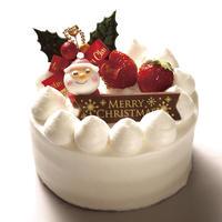 *店頭お渡しのみ* クリスマス生クリームデコレーションケーキ5号