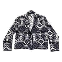 【アメリカ古着】 ラグジャケット ビッグシルエット+ショート丈 珍種