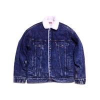 【リーバイス】 80s 裏ボア デニムジャケット 70609-0229 Sサイズ 珍種