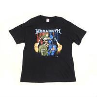 【メガデス】 00s スカルプリント Tシャツ XLサイズ!