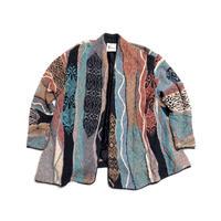 【COOGI】 オーストラリア製 コットンリネン 羽織り カーディガン 珍種!