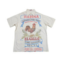 【IZOD】 70s フラワーサックシャツ 超グッドデザイン!