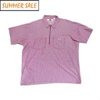 【ベンデイビス】 アメリカ製 ハーフジップ ワークシャツ XLサイズ