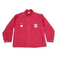 【カーハート】 90s 赤ダック地! ワークジャケット 表記 Lサイズ