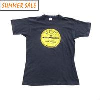 【SUN STUDIO】 90s グッドプリント! ロゴTシャツ Mサイズ