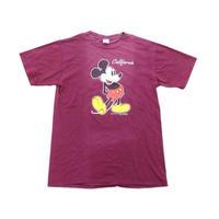 【ミッキーマウス】 アメリカ製 オフィシャルTシャツ Lサイズ