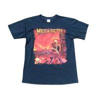 【メガデス】 00s スカルプリント Tシャツ Lサイズ