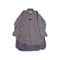 【ヨーロッパ古着】 フランス グランパシャツ グッドカラー 未使用!