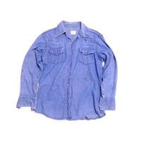 【ビッグマック】 70s BORO系! デニムシャツ 雰囲気◎◎◎