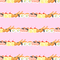 Sushi party (pink)