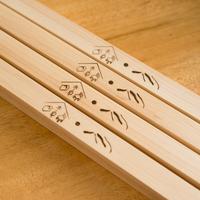 【タペストリー棒 】 大(手ぬぐい横長用)/  ハードメープル材