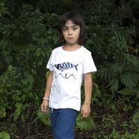 【 KIDS】SABA ティシャツ(白)