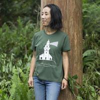 灯台 ティシャツ(緑)