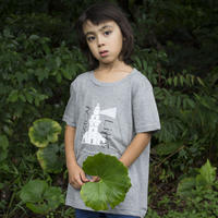 【 KIDS】屋久島灯台 ティシャツ(グレー)