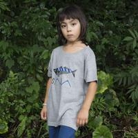 【 KIDS】SABA ティシャツ(グレー)