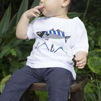 【 BABY 】SABA ティシャツ(白)