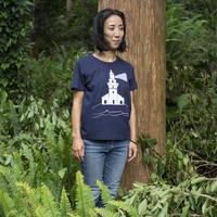 灯台 ティシャツ(紺)